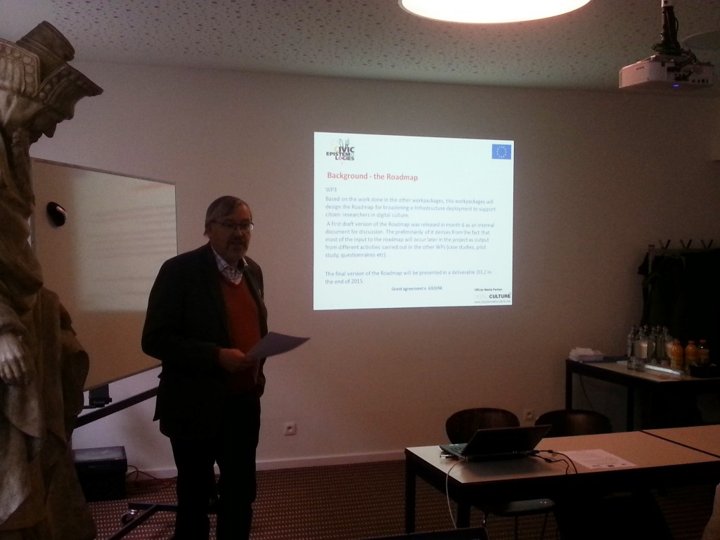 Workshop on the Roadmap, Leuven 20 February 2015