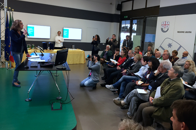 The Workshop hosted in the premises of the Regione Liguria.