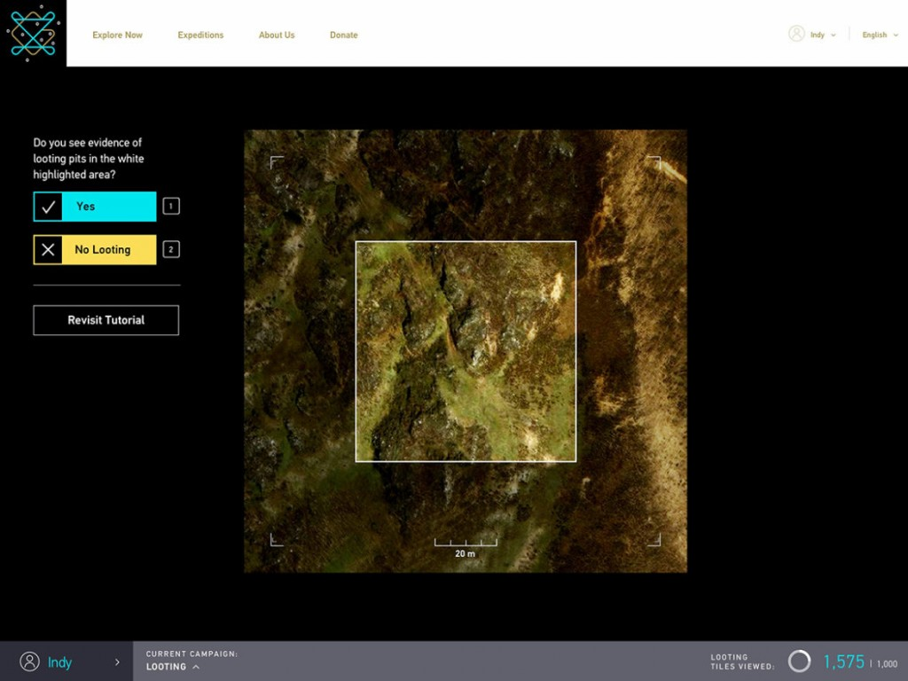 Space Archaeologist Funds Citizen Science Platform